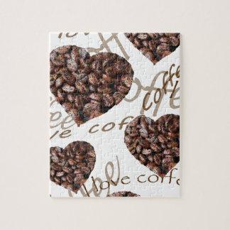 """""""De Koffie van de Liefde van I! """" Legpuzzel"""