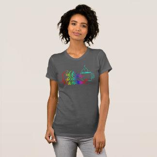 De Koffie van de regenboog is mijn Dierlijke T Shirt