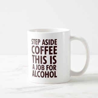 De Koffie van de stap opzij Koffiemok