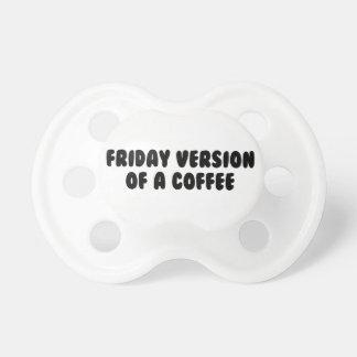De Koffie van de vrijdag Speentje