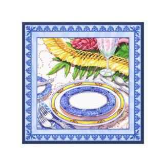 De Koffie van het eiland - Lei van de Gember het Canvas Print