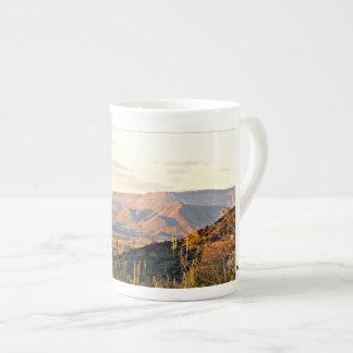 De Koffie van het Landschap van de Kreek van het Teekop