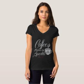 De Koffie van het Leven van Bling maakt me het T Shirt