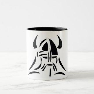 De koffiekop van Viking Tweekleurige Koffiemok