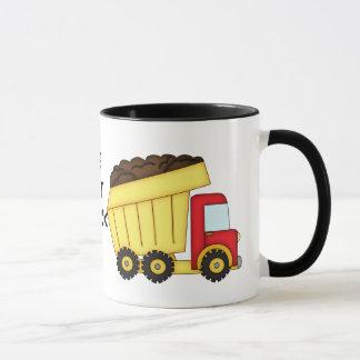 De koffiemok van de Vrachtwagenchauffeur van de