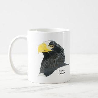 De koffiemok van Eagle van het Zee van Steller