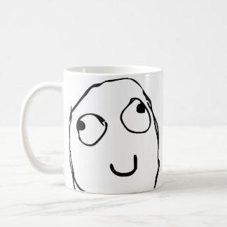 De koffiemok van het Gezicht van de woede Grappige