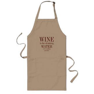 De Kokende Schort van de Minnaar van de wijn