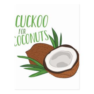 De Kokosnoten van de koekoek Briefkaart