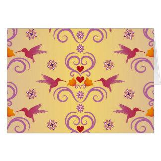 De Kolibries en de Harten van Valentijn Kaart