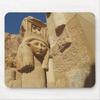 De kolom van Hathor - de Tempel van Koningin Hatsh Muismatten