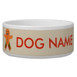 De Kom van de Hond van het Man van de Peperkoek