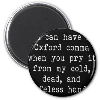 De Komma van Oxford Magneet