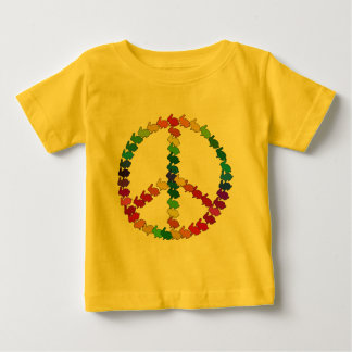 De Konijnen van de vrede Baby T Shirts