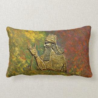 De Koning van Assyrian werpt Lumbaal Hoofdkussen Lumbar Kussen