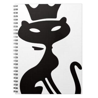 De Koning van de kat Notitieboek