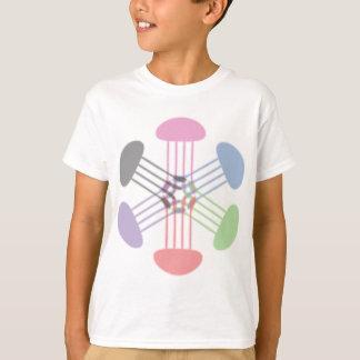De Koning van de Kwallen van de regenboog T Shirt