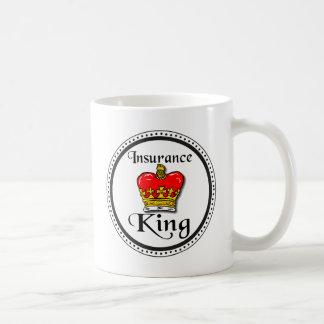 De Koning van de verzekering Koffiemok