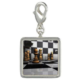 De Koning van het Spel van het schaak Foto Charm