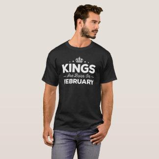 De koningen zijn Geboren in Februari T Shirt
