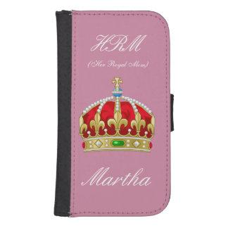 De koningin Phone Wallet Galaxy S4 Portemonnee Hoesje