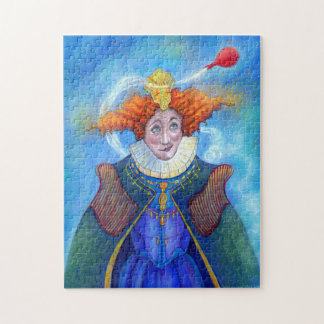 De koningin Puzzle door Mike Winterbauer Puzzel