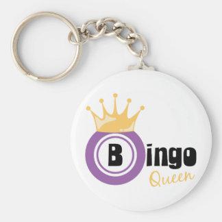 De Koningin van Bingo Sleutelhanger