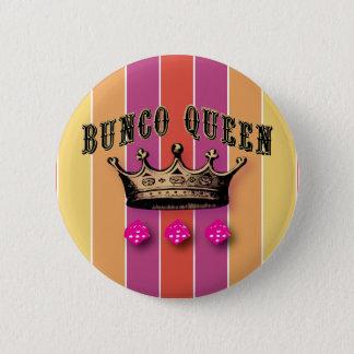 De Koningin van Bunco Ronde Button 5,7 Cm