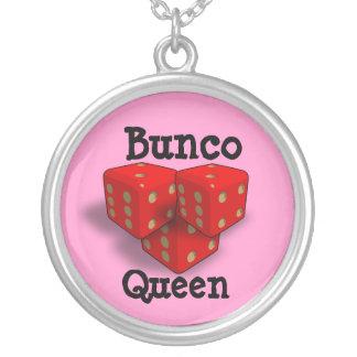 De Koningin van Bunco Zilver Vergulden Ketting