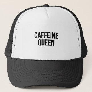 De Koningin van de cafeïne Trucker Pet