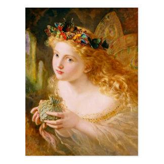 De Koningin van de fee Briefkaart