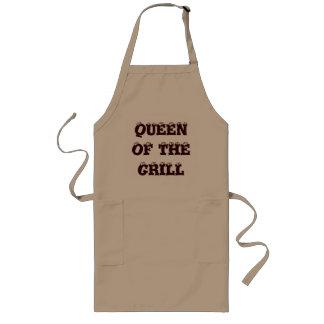 De Koningin van de grill Schort