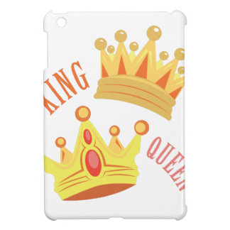 De Koningin van de koning iPad Mini Covers