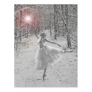 De koningin van de Sneeuw Briefkaart