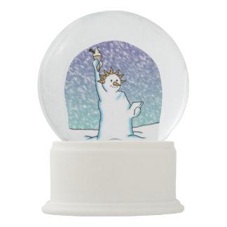 De Koningin van de sneeuw Sneeuwbol