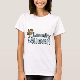 De Koningin van de wasserij met Kroon T Shirt