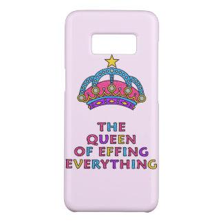 De koningin van Effing alles het Hoesje van de