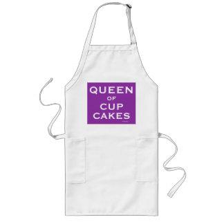 De koningin van Kop koekt de Grappige Vrouwelijke Lang Schort