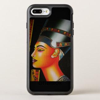 De koningin van Nefertiti Egypte OtterBox Symmetry iPhone 7 Plus Hoesje
