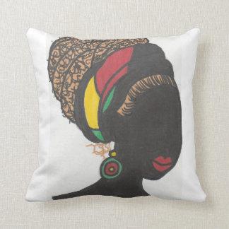 De Koningin van Nubian Sierkussen