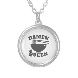 De Koningin van Ramen Zilver Vergulden Ketting
