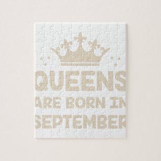 De Koningin van september Puzzel