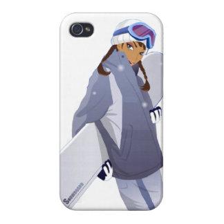 De Koningin van Snowboard - iPhone 4 Hoesje