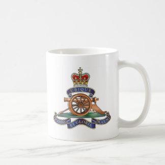 de Koninklijke Artillerie van het 50ste Regiment Koffiemok