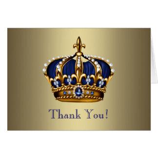 De koninklijke Marineblauwe Gouden Kroon van de Briefkaarten 0