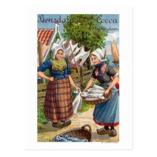 De Koninklijke Nederlandse Cacao van Bensdorp Briefkaart