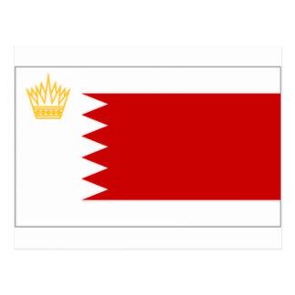 De Koninklijke StandaardVlag van Bahrein Briefkaart