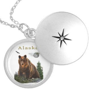 De koopwaar van Alaska Locket Ketting