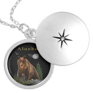 De koopwaar van de Staat van Alaska Zilver Vergulden Ketting
