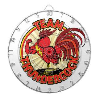 De Koopwaar van Thundercock van het team Dartborden